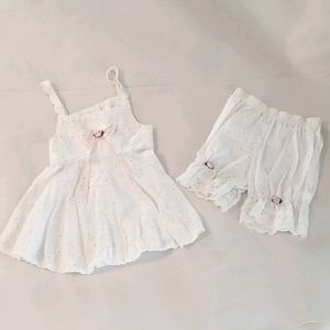 Girls size 3T summertime Outfit by Tee Party
